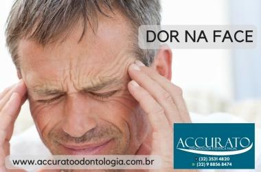 Dor na face é dor orofacial